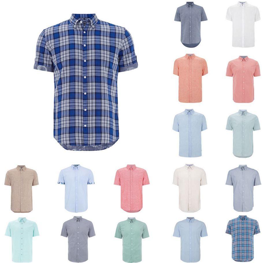 McNeal Hemden MCNEAL Kurzarm Herren Hemden für je 11,20€