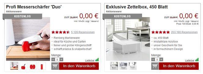 Messerschärfer Druckerzubehör mit Räumngsverkauf + Gratisartikel!