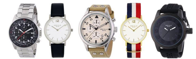 Mike Ellis Aktion Mike Ellis ausgewählte Herren und Damen Uhren mit bis zu 50% Rabatt   Modeuhren ab 19,99€