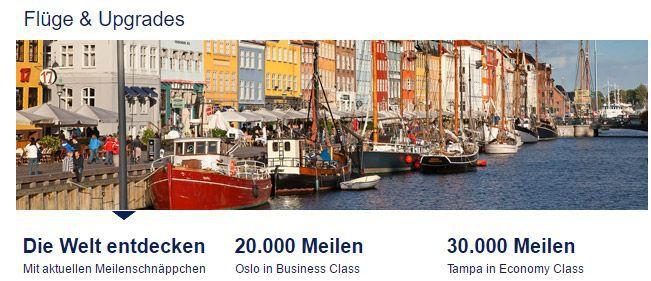 Miles & More: 500 Flugmeilen gratis bei Newsletteranmeldung
