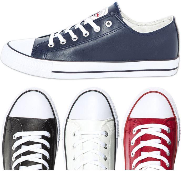 Nebulus Legara   Leder Damen und Herren Sneaker für 24,99€