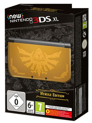 New Nintendo 3DS XL New Nintendo 3DS XL Hyrule Edition für 169€ (statt 191€)