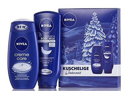 Nivea Geschenkset In Dusch Milk und Creme Care für 3,33€ (statt 6€)   Plus Produkt!