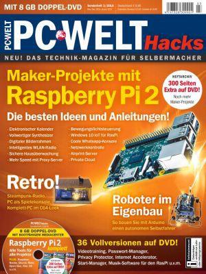 """PC Welt Sonderheft """"Maker Projekte mit Raspberry Pi 2"""" kostenlos (statt 9,90€)"""