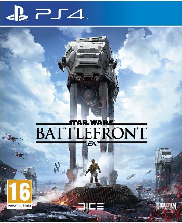 Star Wars Battlefront   PlayStation 4 Version für 24,33€
