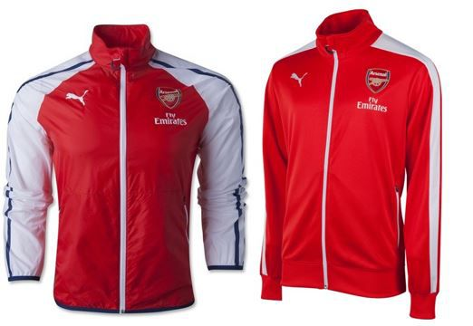 PUMA FC Arsenal London PUMA FC Arsenal London   Herren Sportjacken statt 37,94€ für je 19,99€