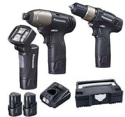 Panasonic EYC 301 LA (Akku Bohr  & Schlagschrauber) für 124€ (statt 170€)