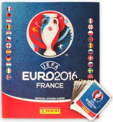 250 Panini Euro 2016 Sticker + Sammelalbum für nur 22,98€
