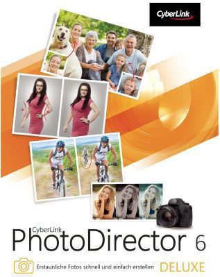 PhotoDirector Nur bis morgen: Photodirector 6 Deluxe (Vollversion) gratis