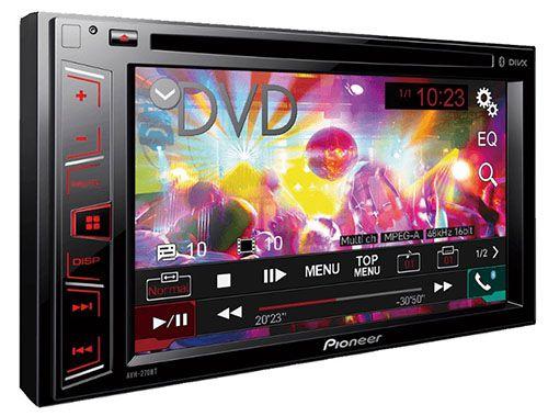Pioneer AVH 270BT Doppel DIN Autoradio ab 194€ (statt 250€)