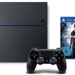 Playstation 4 mit 1TB (CUH-1216B) + Uncharted 4: A Thief's End für 269€ (statt 348€)
