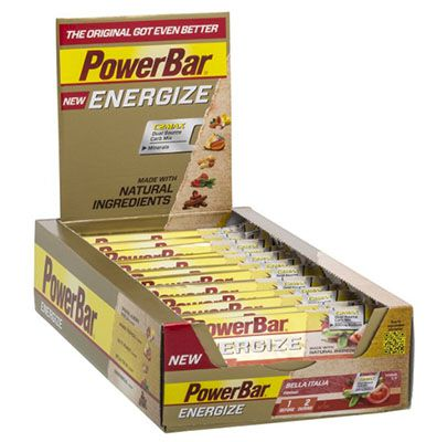 PowerBar Energize Bar 25er Pack PowerBar Energize Bar Bella Italia ab 21,52€ (statt 33€)