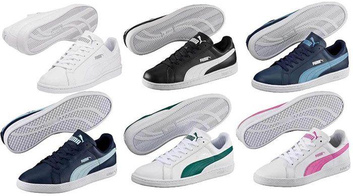 Puma Smash Sneaker   Damen und Herren für je 29,90€