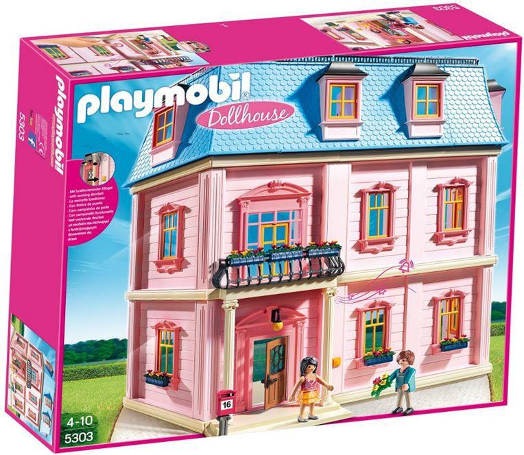 PLAYMOBIL 5303   Romantisches Puppenhaus für 76,49€