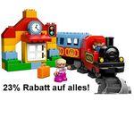 MyToys heute mit 23% Rabatt auf alles auch im Sale ab 29€ – günstig Lego etc.