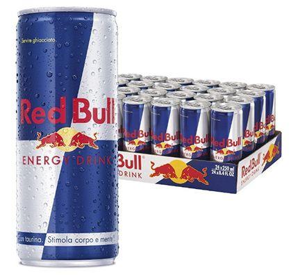 24 Dosen Red Bull (je 250ml) für 22,84€€ inkl. VSK