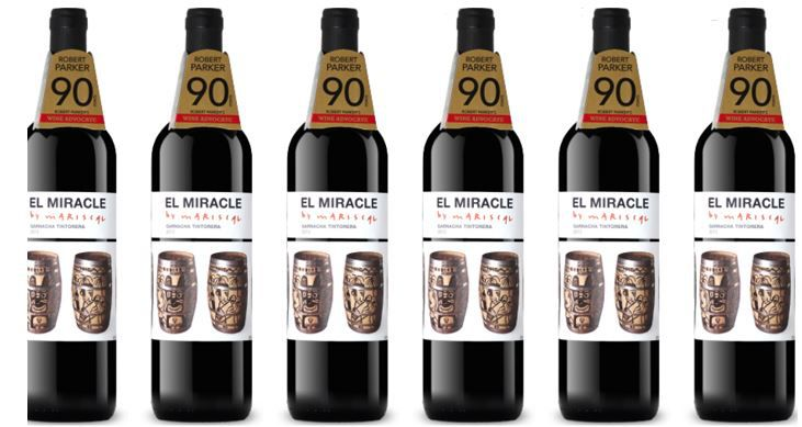 6x Rotwein El Miracle by Mariscal (90 Parker Punkte) für nur 34,90€