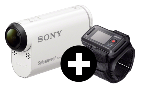 Sony HDR AS200 Full HD Action Cam + Remote für 164€ (statt 218€)