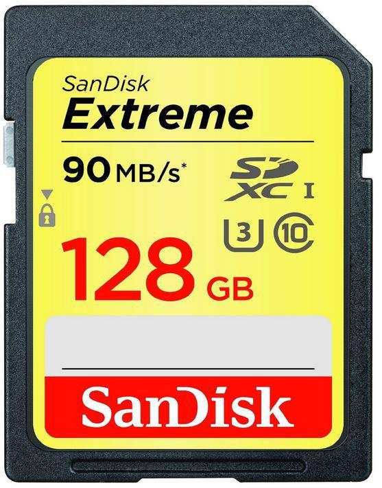 SanDisk Extreme 128GB SDXC statt 58€ für nur 45,99€