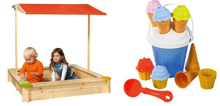 15% Rabatt auf Sandspielzeug   z.B. Beluga Sandkasten für 32€ (statt 43€)