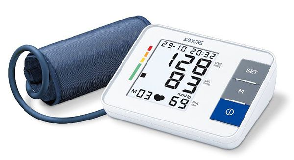 Sanitas SBM 38 Sanitas SBM 38 Oberarm Blutdruckmessgerät für 28,99€ (statt 35€)