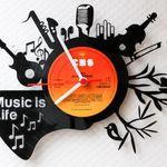 Verschiedene Schallplattenuhren mit 50% Rabatt – diverse Modelle ab 14,40€