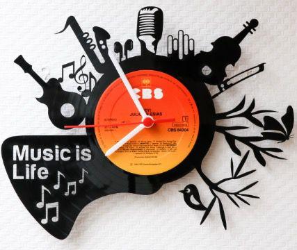 Verschiedene Schallplattenuhren mit 50% Rabatt   diverse Modelle ab 14,40€