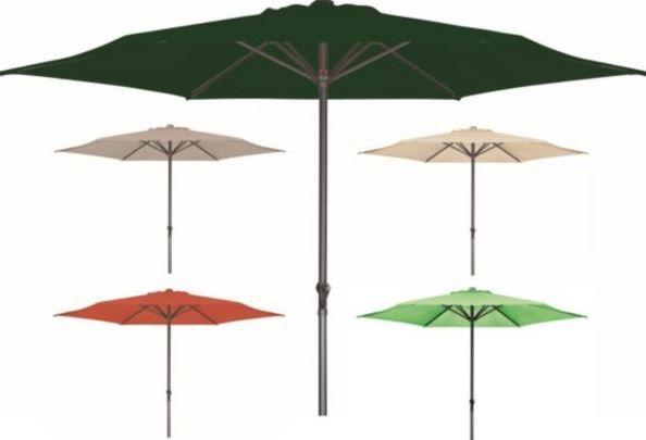 Derby  BASIC LIFT II 300   3m Kurbel Sonnenschirm für 49,95€
