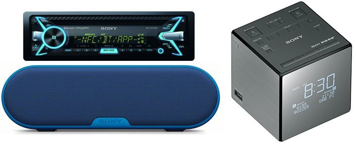 Sony Audio Produkte heute günstig bei Amazon
