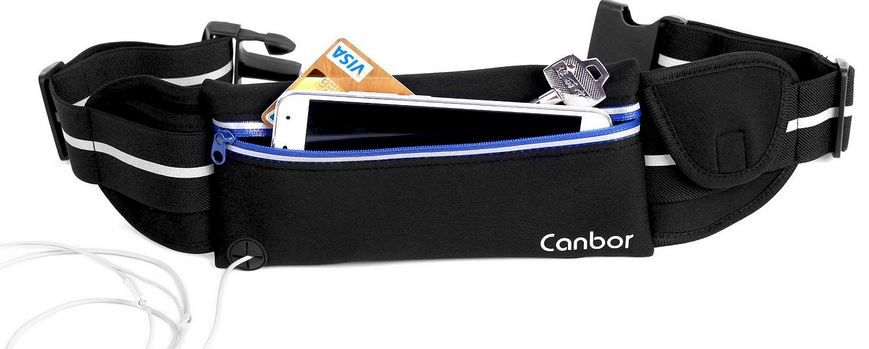 Canbor Sport Gürteltasche für Smartphones etc. statt 13€ ab nur 7,99€