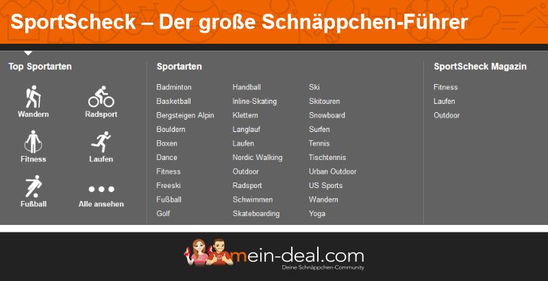 Sportscheck Angebote, Deals und Schnäppchen