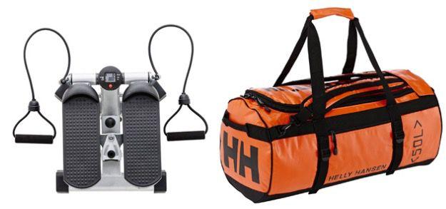Sportartikel 20% auf ausgewählte Sportartikel bei Amazon   z.B. Helly Hansen Sporttasche für 72€ (statt 86€)