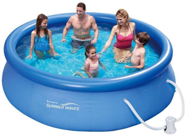 Summer Waves Summer Waves Fast Set Quick Up Pool inkl. Pumpe (305x76cm) für 49,95€ (statt 62€)