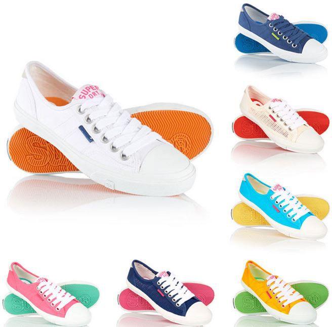 Superdry Chalk Mesh u.a. Damen Sneaker für nur 18,95€