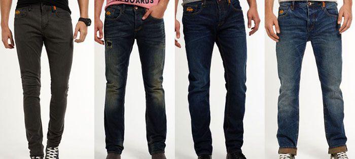 Superdry Jeans Superdry Herren Jeans für 24,95€ (statt 44€)