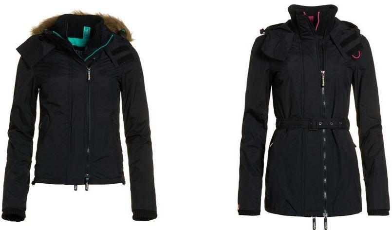 Superdry POP Damenjacke Superdry POP   Damen Jacken 5 Modelle für je 47,96€