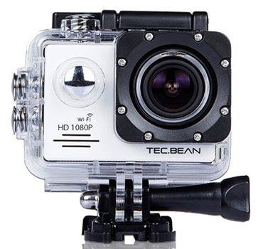 TEC.BEAN Action Sport TEC.BEAN Action Sport WIFI Kamera mit 14MP für 76,99€ (statt 97€)