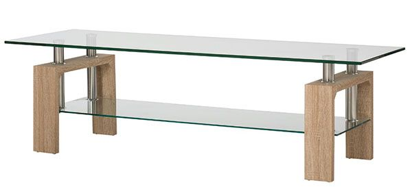 Lenzen TV Rack mit Glasplatten für 28,50€ (statt 49€)