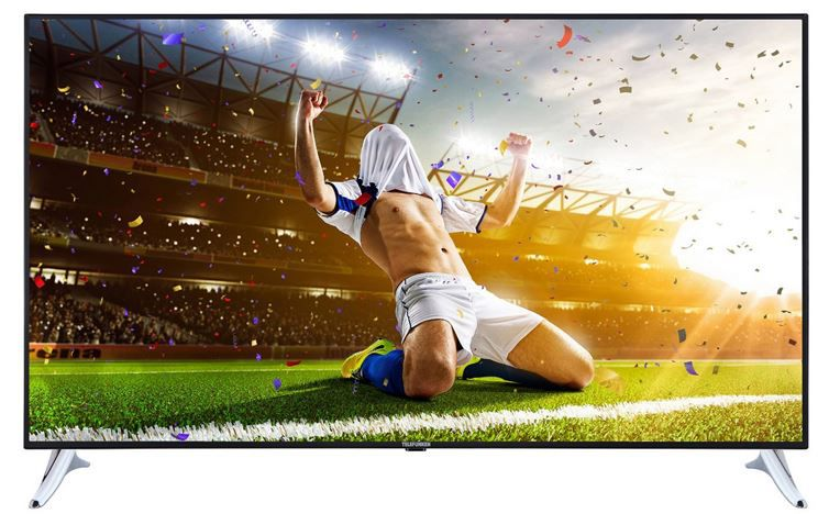 Telefunken XU49A401   49 Zoll Smart UHD TV mit tiple Tuner (DVB T2) für 429,99€