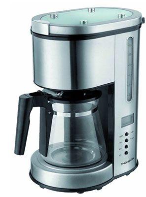 Thomson THCO05606 Edelstahl Kaffeemaschine für 29,99€ (statt 58€)