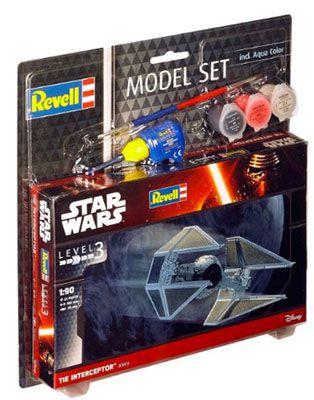 Tie Interceptor Revell Star Wars Tie Interceptor im Maßstab 1:90 ab 7€ (statt 13€)