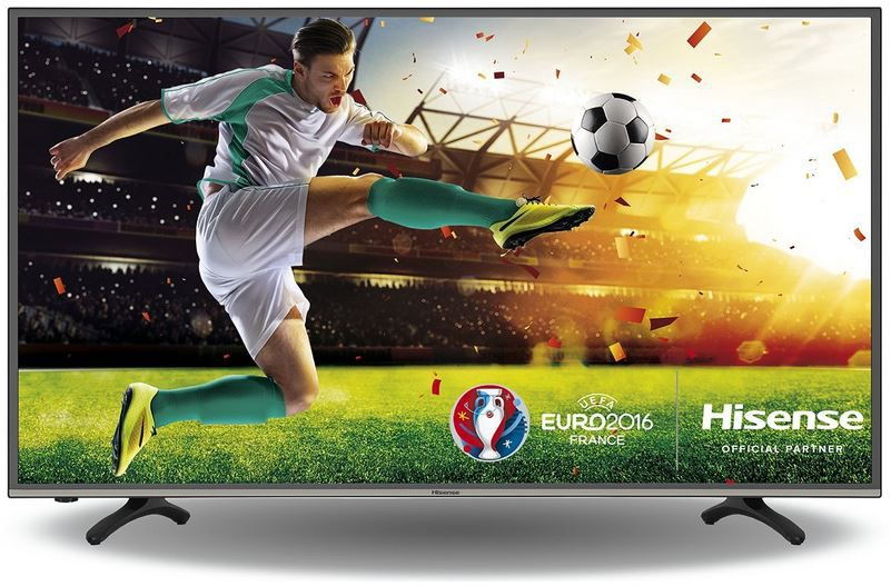 Hisense H49MEC3050   49 Zoll Smart UHD TV mit triple Tuner (DVB T2) für nur 469,99€
