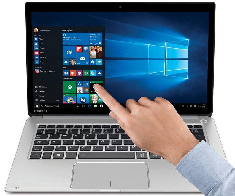 Toshiba KIRA 10J   13,3 Zoll Full HD Notebook, Core i7 statt 1.034€ für 799€