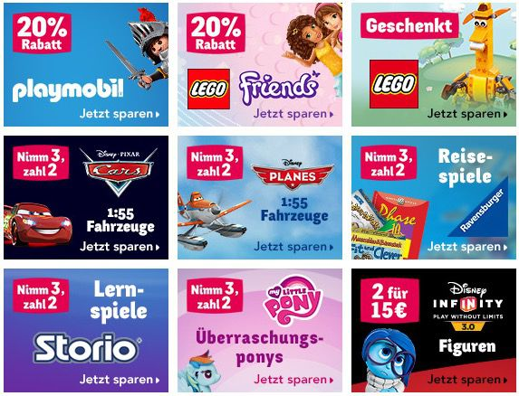 Toys R Us1 ToysRUs Aktionen   z.B. 20% Rabatt auf Playmobil Artikel