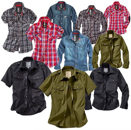 Trooper Raw Vintage Damen & Herren Hemden für je 12,90€