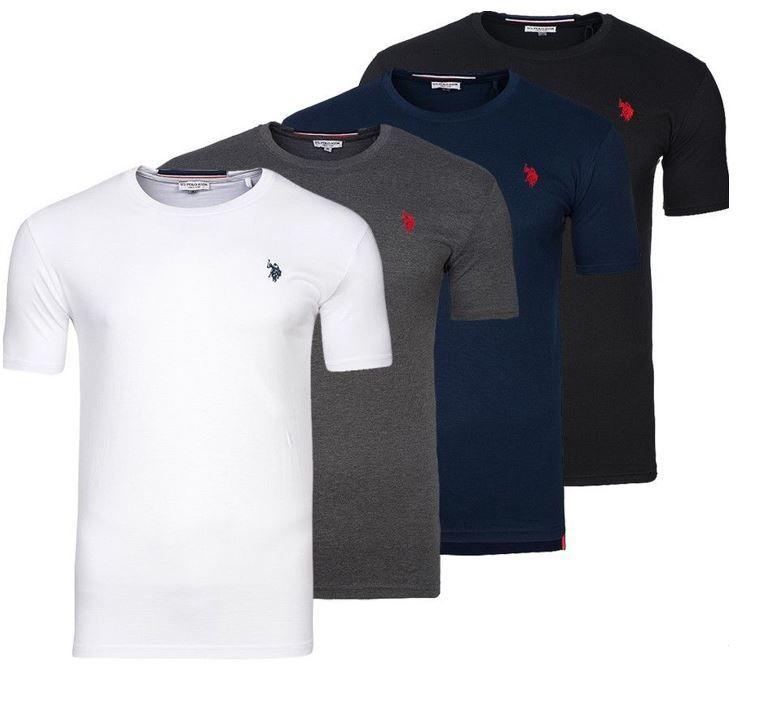 U.S. POLO ASSN. Round Neck Herren T Shirts in 4 Farben für je 9,99€