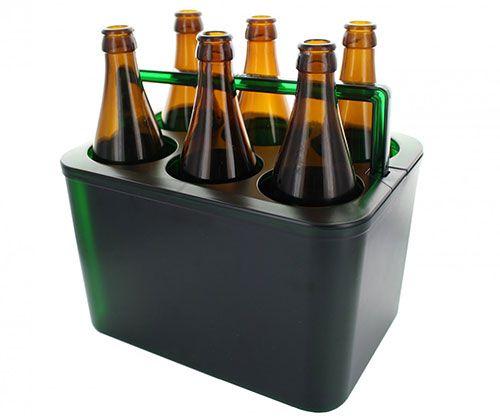 VaCoolino Flaschentraeger VaCoolino Flaschenträger mit Kühleffekt für 6 Flaschen für 0,13€ + 3,90€ Versand