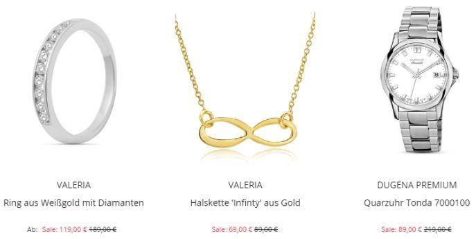 Valmano Sale Beispiele Valmano Summer Sale mit bis zu 40% Rabatt + 10% Extra Rabatt   günstige Uhren und Schmuck