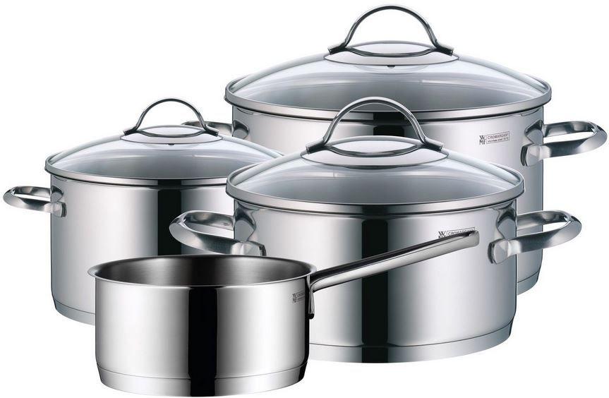 WMF Provence Plus WMF Provence Plus   4 teiliges Kochgeschirr Set für alle Herde auch Induktion für 99€
