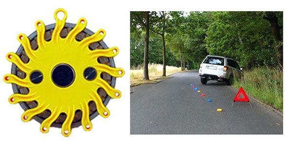 Warnleuchte Gelbe LED Warnleuchte mit Magnet für 7,95€ (statt 15€)